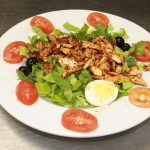 CAJUN STYLE BLACKENED CHICKEN SALAD