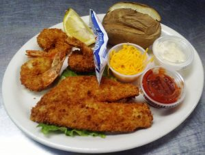 Fish & Shrimp Platter